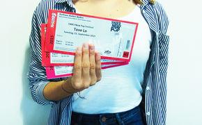 Tove Lo, Mit Tove Lo zum SWR3 New Pop Festival: Gewinnt 3x2 Tickets