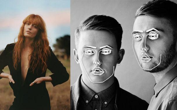 Disclosure, Das Apple Music Festival 2015: Florence + The Machine und Disclosure sind mit dabei