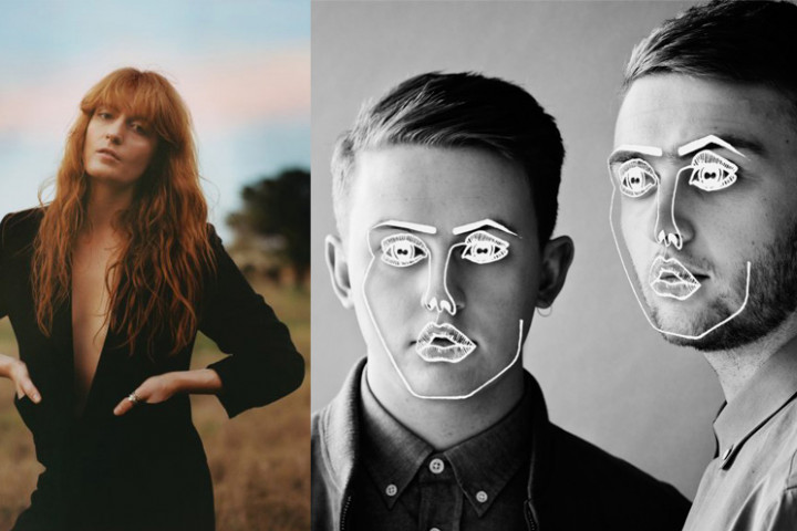 Florence + The Machine und Disclosure