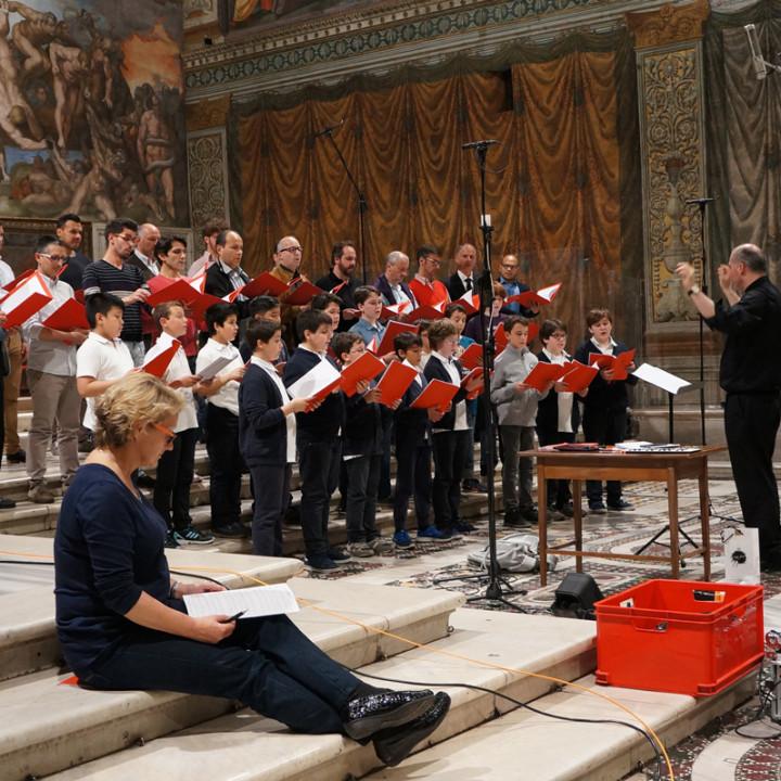 Chor der Sixtinischen Kapelle, Massimo Palombella, Anna Barry