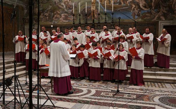 Chor der Sixtinischen Kapelle, Überwältigend – Chor der Sixtinischen Kapelle singt Palestrina