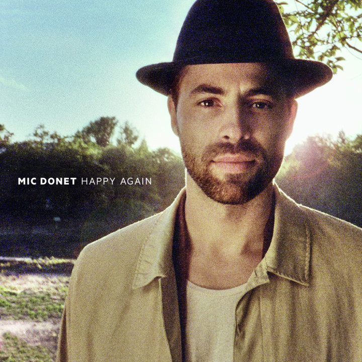 "Mic Donet Single Cover ""Happy Again"""
