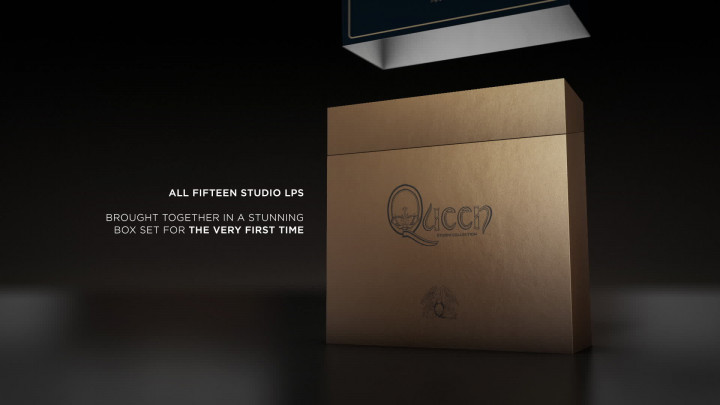 Queen -  Studio Collection - Unboxing