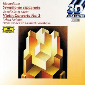 Itzhak Perlman, Lalo: Symphony espagnole op. 21 / Saint-Saens: Concerto for Violin and Orchestra No. 3, 00028942997721