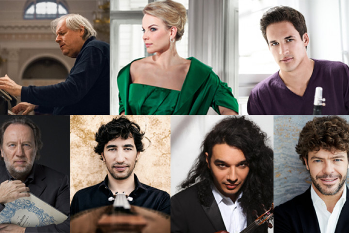 Grigory Sokolov, Elīna Garanča, Andreas Ottensamer, Riccardo Chailly, Avi Avital, Nemanja Radulović, Pablo Heras-Casado