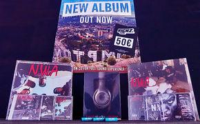 N.W.A., Für echte Hip Hop-Fans: Gewinnt umfangreiche Fan-Pakete der Compton-Rapper von N.W.A