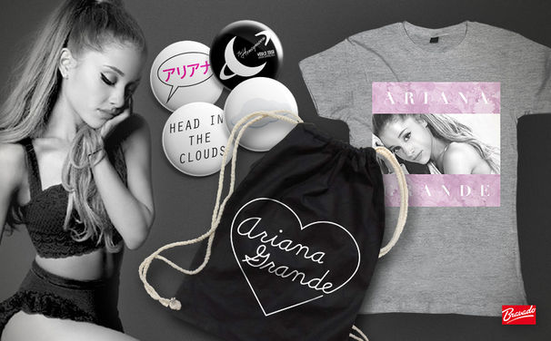 Ariana Grande, Präsentiert von Bravado: Gewinnt tolle Merchandise-Artikel aus dem offiziellen Ariana Grande-Fanshop