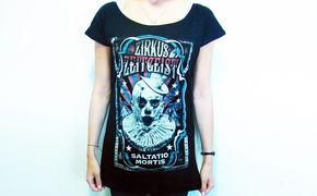 Saltatio Mortis, Manege frei für neue Kostüme: Gewinnt Saltatio Mortis T-Shirts