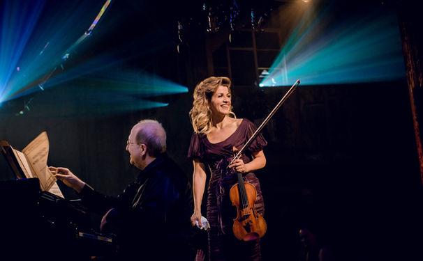 Anne-Sophie Mutter, Club-Konzert im ZDF - Anne-Sophie Mutter und die Yellow Lounge
