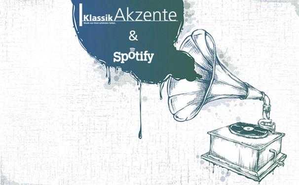 Diverse Künstler, KlassikAkzente Neuheiten ab sofort als Playlist auf Spotify