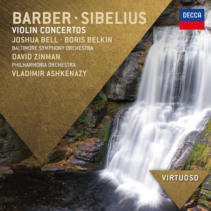 Barber: Violin Concerto; Sibelius: Violin Concerto; Serenade No.2