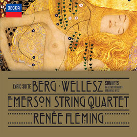 Emerson String Quartet, Berg: Lyric Suite; Wellesz: Sonnets By Elizabeth Barrett Browning, Op.52, 00028947884019