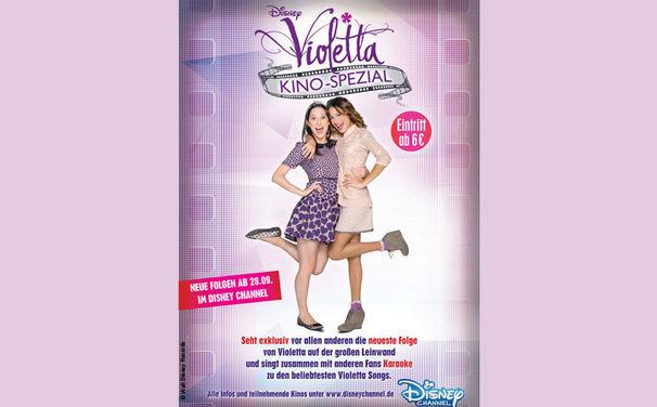Violetta, Die neueste Folge eurer Lieblingsserie Violetta vor allen anderen im Kino sehen!