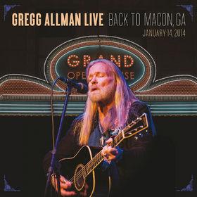 Gregg Allman, Gregg Allman Live: Back To Macon, GA, 00888072376953