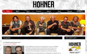 Höhner, Die Höhner-Homepage in neuem Glanz