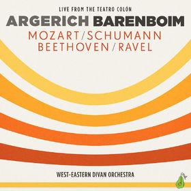 Martha Argerich, Argerich - Barenboim - Mozart, Schumann, Beethoven, Ravel, 00028948119851