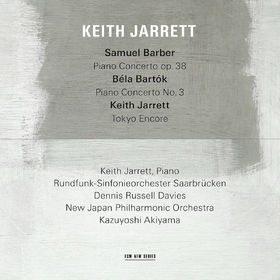 Keith Jarrett, Samuel Barber: Piano Concerto, Op.38 / Béla Bartók: Piano Concerto No.3 / Keith Jarrett: Tokyo Encore, 00028948115815