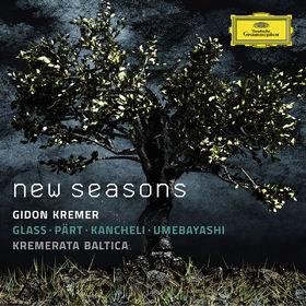 Gidon Kremer, New Seasons - Glass, Pärt, Kancheli, Umebayashi, 00028947948193