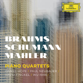 Daniel Hope, Brahms, Schumann, Mahler: Piano Quartets, 00028947946113