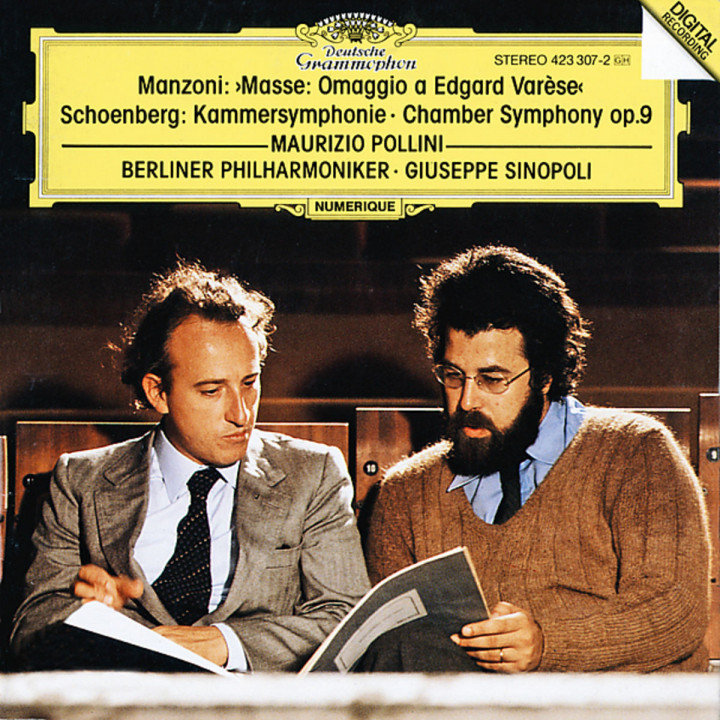 Manzoni: Masse: Omaggio a Edgard Varèse / Schoenberg: Kammersymphonie op.9