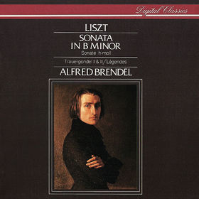 Alfred Brendel, Liszt: Piano Sonata in B minor; Légendes; La lugubre Gondola, 00028947890133