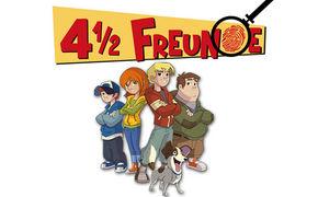 4 1/2 Freunde, TV Tipp: 4 ½ Freunde jetzt im KIKA!