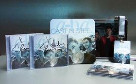 a-ha, Gewinnt das neue a-ha Album Cast In Steel: handsigniert und als Deluxe Digipack