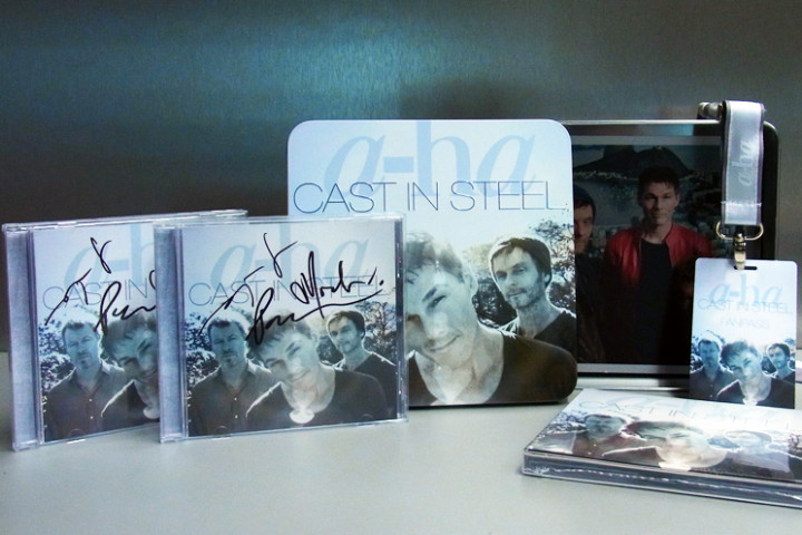 "a-ha ""Cast In Steel"" Gewinn"