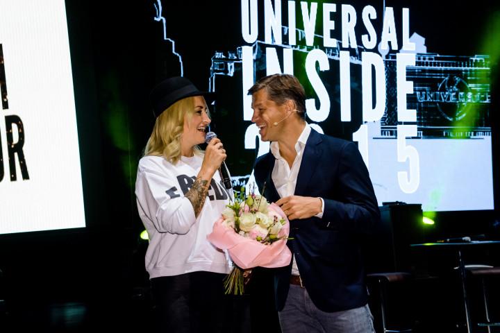 Gold und Platin für Sarah Connor bei UNIVERSAL Inside 2015
