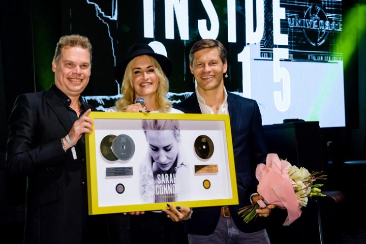 """Universal Inside 2015: Sarah Connor erhält Platin und Gold für ihr Album """"Muttersprache"""""""