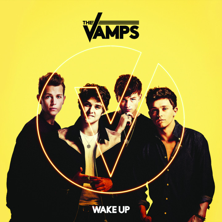 The Vamps Wake Up Single Cover 2015