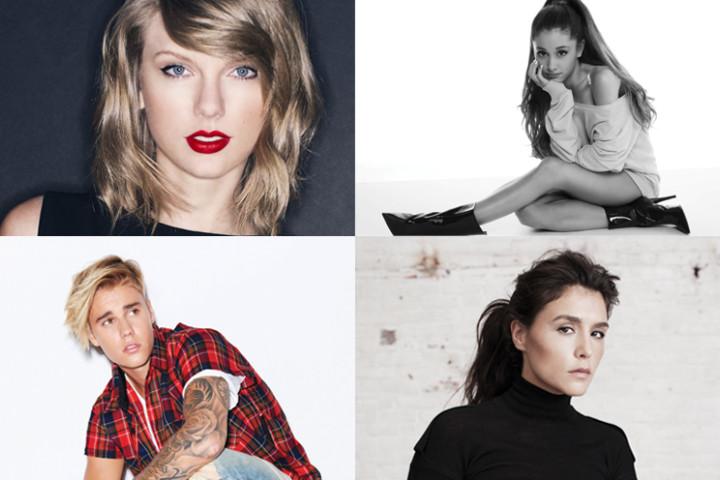 MTV EMAs 2015 Nomninierte