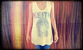 Keith Richards, Präsentiert von Bravado und Sound Array: Gewinnt tolle Keith Richards Shirts zur Veröffentlichung von Crosseyed Heart