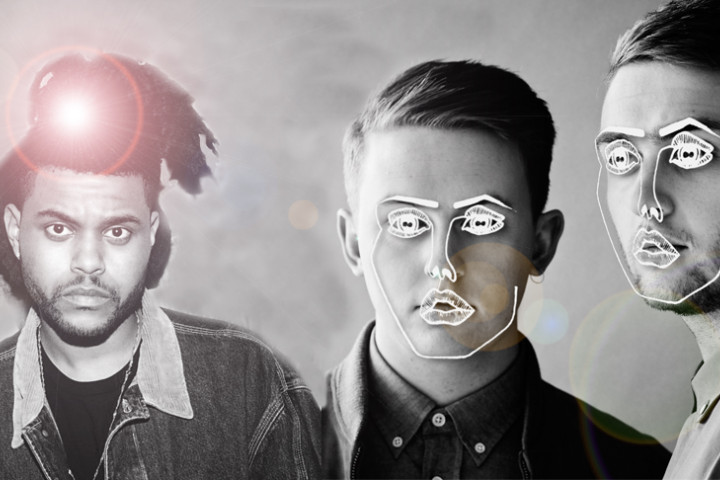 Collage: The Weeknd & Disclosure