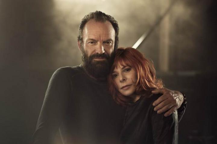 Sting und Mylene Farmer 2015