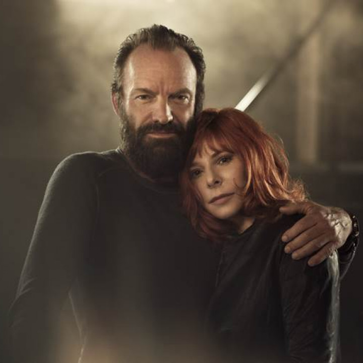 Sting und Mylene Farmer Pressebild 2015