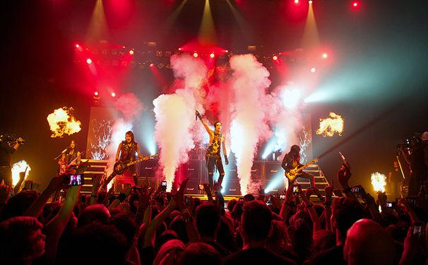 Black Veil Brides, Black Veil Brides veröffentlichen zum ersten Mal eine Live-DVD und Blu-ray