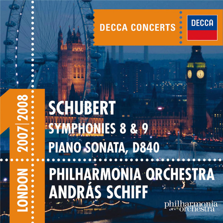 Schubert: Symphonies 8 & 9 etc