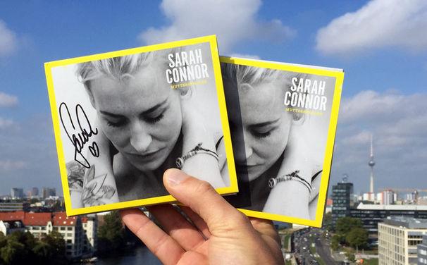 Sarah Connor, Auf zwei Neue: Ihr habt erneut die Chance, das Sarah Connor Album Muttersprache 2x signiert zu gewinnen