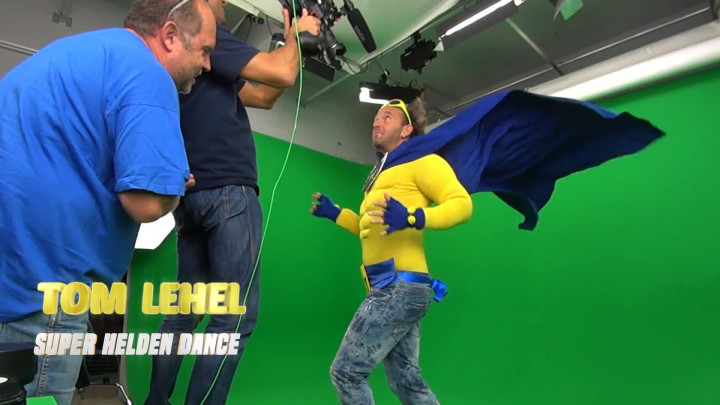 Making Of Super Helden Dance