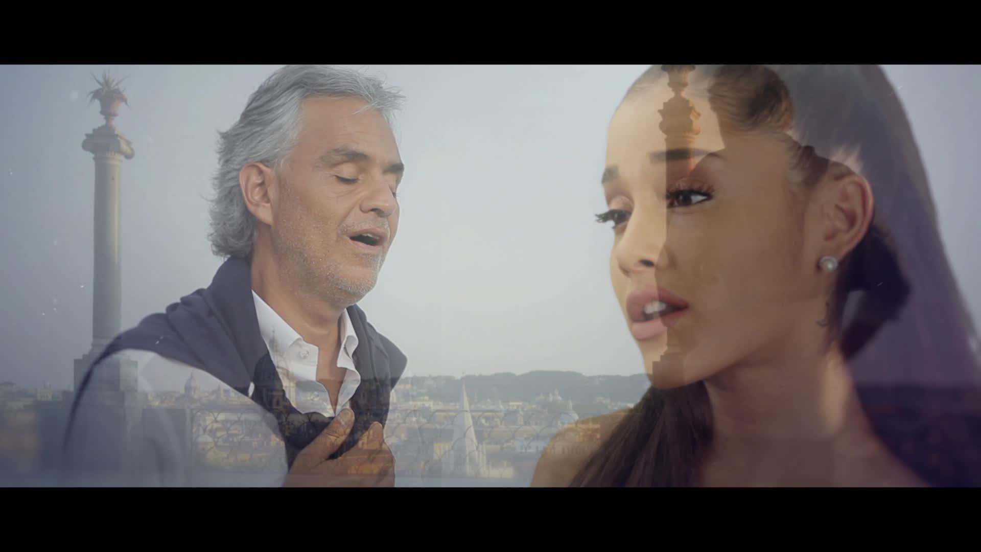 Andrea Bocelli, E Più Ti Penso feat. Ariana Grande