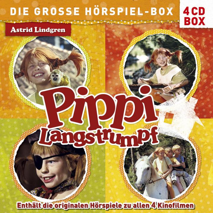 Pippi Langstrumpf - Die große Hörspiel-Box