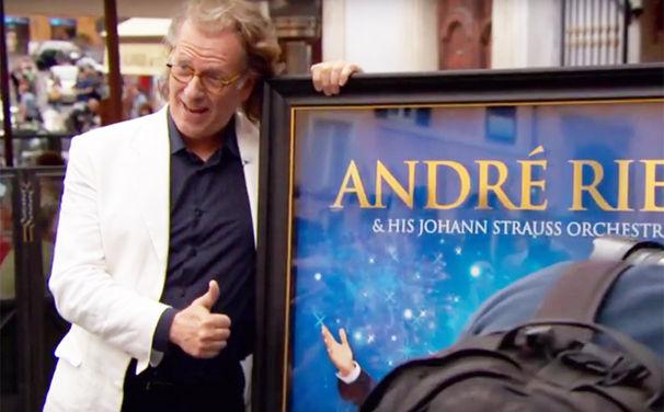 André Rieu, Herzlichen Glückwunsch: André Rieu ist mit dem Jubilee Award ausgezeichnet