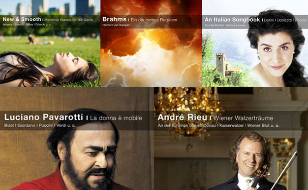 Classical Choice, Musikalische Ohrwärmer - Fünf neue Titel in der Reihe Classical Choice