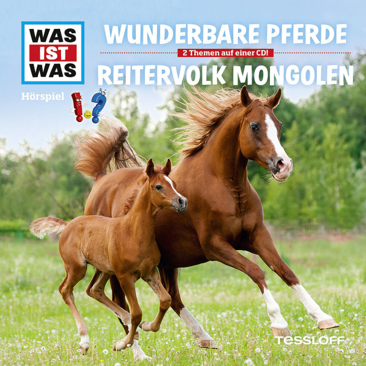 Folge 56: Wunderbare Pferde / Reitervolk Mongolen