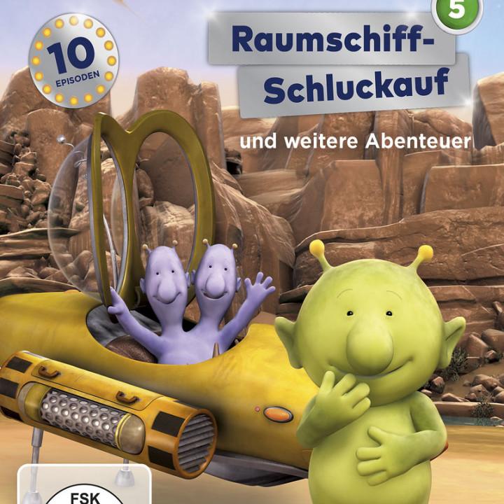 Raumschiff-Schluckauf (DVD 5, Folge 33-42)