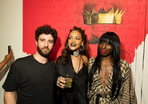Rihanna, Rihanna Artwork ANTI