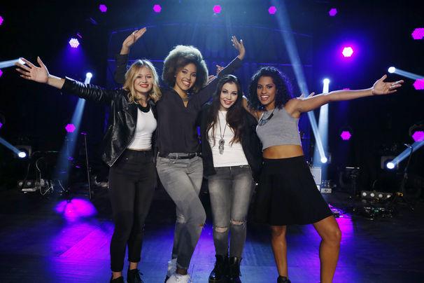 Leandah, Alena, Pati, Sabrina und Selina sind die neue Popstars-Band Leandah