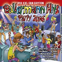 Ballermann Hits, Ballermann Hits Party 2016, 00600753651629