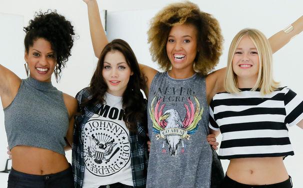 Leandah, Leandah im Tonstudio: Seht hier neue Bilder der vier Mädels